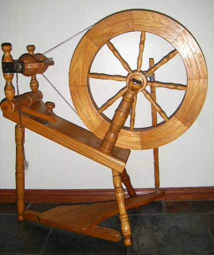 Small Single Treadle Saxony