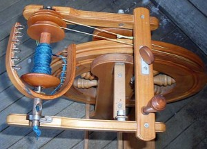 Double Drive wheel, bentwood Flyer