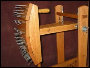 Swinging Mechanical Wool Picker
